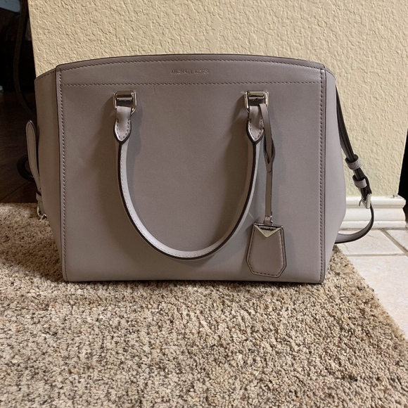 507efc30c Michael Kors Bags   Benning Large Leather Satchel   Poshmark